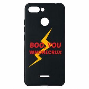 Etui na Xiaomi Redmi 6 Boo, you whorecrux