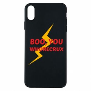 Etui na iPhone Xs Max Boo, you whorecrux
