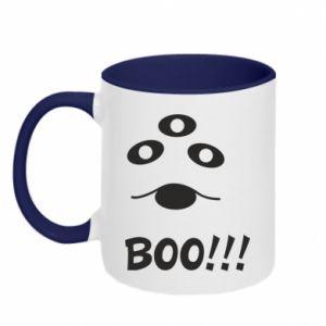 Two-toned mug Boo!!!