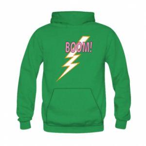 Bluza z kapturem dziecięca Boom