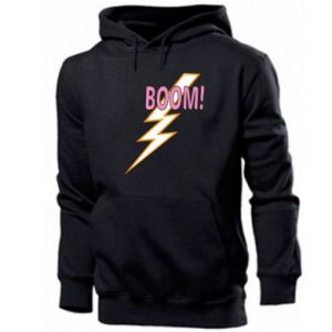 Bluza z kapturem męska Boom