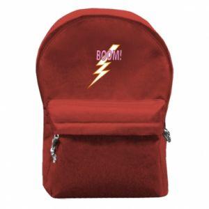 Plecak z przednią kieszenią Boom