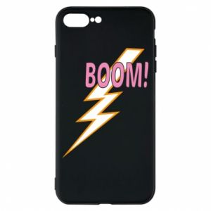 Phone case for iPhone 8 Plus Boom