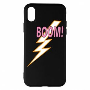 Etui na iPhone X/Xs Boom