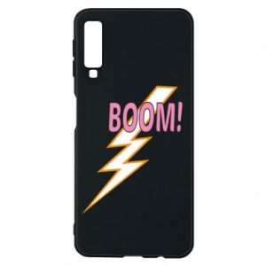 Phone case for Samsung A7 2018 Boom