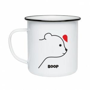 Enameled mug Boop for her - PrintSalon