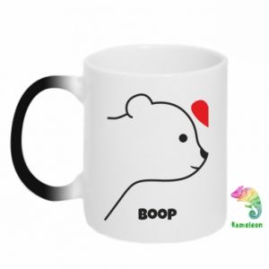Chameleon mugs Boop for her - PrintSalon