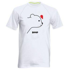 Men's sports t-shirt Boop for her - PrintSalon