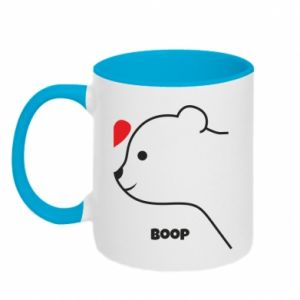 Two-toned mug Boop for him