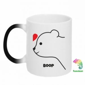 Chameleon mugs Boop for him - PrintSalon