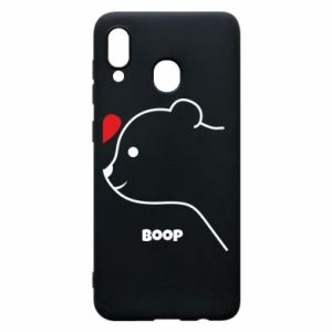 Phone case for Samsung A20 Boop for him