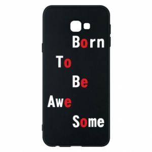 Etui na Samsung J4 Plus 2018 Born to be awe some
