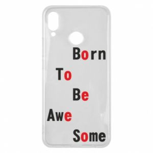 Etui na Huawei P Smart Plus Born to be awe some