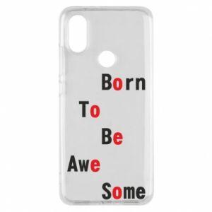 Etui na Xiaomi Mi A2 Born to be awe some