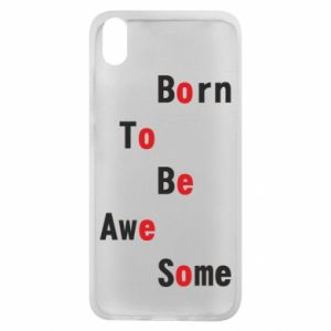 Etui na Xiaomi Redmi 7A Born to be awe some