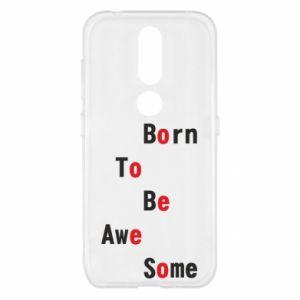 Etui na Nokia 4.2 Born to be awe some