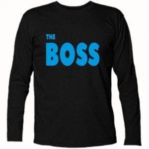 Koszulka z długim rękawem Boss - PrintSalon