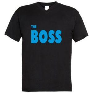 Męska koszulka V-neck Boss - PrintSalon