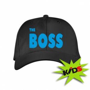 Dziecięca czapeczka z daszkiem Boss - PrintSalon