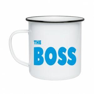 Kubek emaliowane Boss - PrintSalon