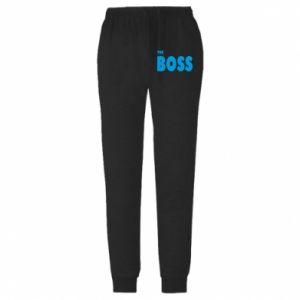 Męskie spodnie lekkie Boss - PrintSalon