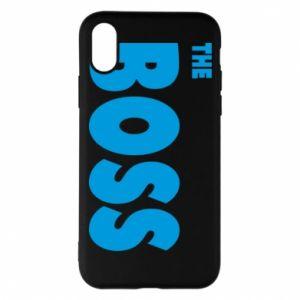 Etui na iPhone X/Xs Boss - PrintSalon