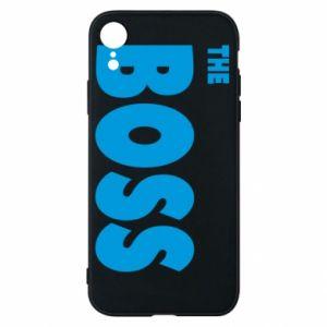 Etui na iPhone XR Boss - PrintSalon