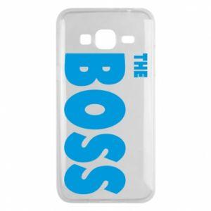 Etui na Samsung J3 2016 Boss - PrintSalon