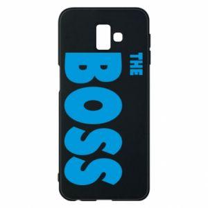 Etui na Samsung J6 Plus 2018 Boss - PrintSalon