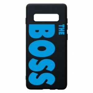 Etui na Samsung S10+ Boss - PrintSalon