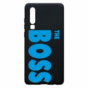 Etui na Huawei P30 Boss - PrintSalon