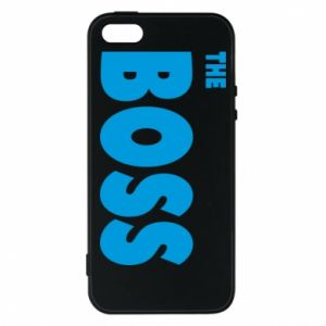 Etui na iPhone 5/5S/SE Boss - PrintSalon