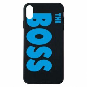 Etui na iPhone Xs Max Boss - PrintSalon
