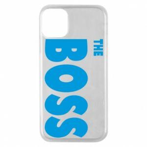 Etui na iPhone 11 Pro Boss - PrintSalon