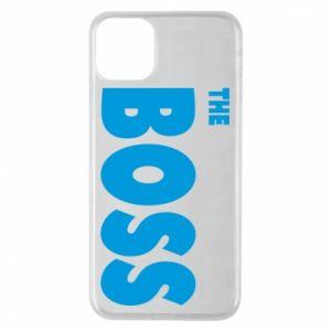 Etui na iPhone 11 Pro Max Boss - PrintSalon