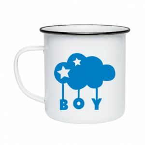 Enameled mug Boy