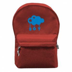 Plecak z przednią kieszenią Boy