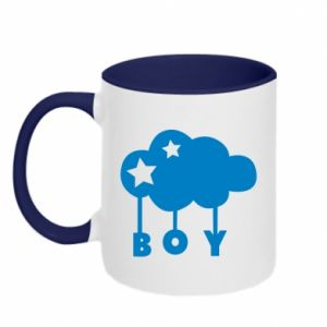 Two-toned mug Boy