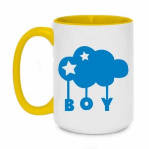 Two-toned mug 450ml Boy