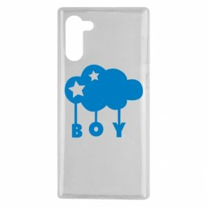 Samsung Note 10 Case Boy
