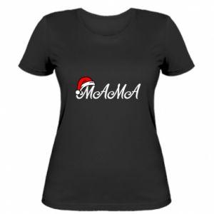 Women's t-shirt Christmas. Mom