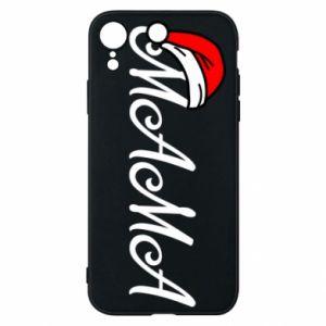 Etui na iPhone XR Boże Narodzenie. Mama