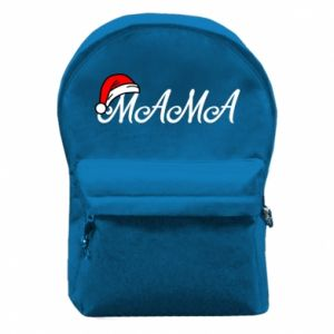 Plecak z przednią kieszenią Boże Narodzenie. Mama