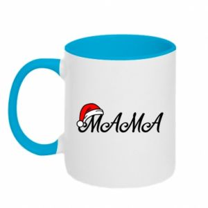 Kubek dwukolorowy Boże Narodzenie. Mama