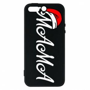 Etui na iPhone 5/5S/SE Boże Narodzenie. Mama