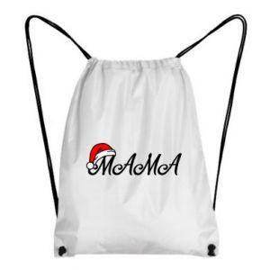 Plecak-worek Boże Narodzenie. Mama