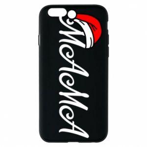 Etui na iPhone 6/6S Boże Narodzenie. Mama