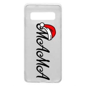 Phone case for Samsung S10 Christmas. Mom