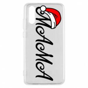 Etui na Huawei P20 Boże Narodzenie. Mama