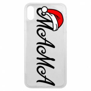 Etui na iPhone Xs Max Boże Narodzenie. Mama